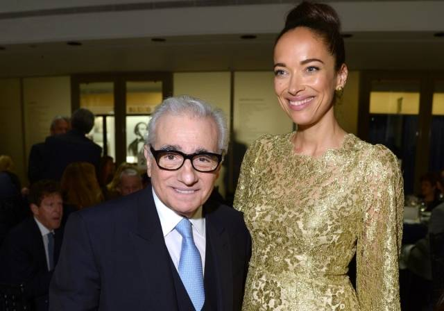 Martin Scorsese and Carmen Chaplin - 41st Chaplin Award Gala