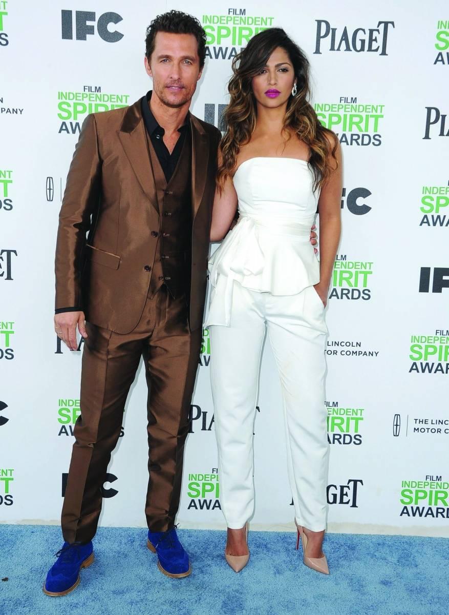 Matthew McConaughey + Camila Alves