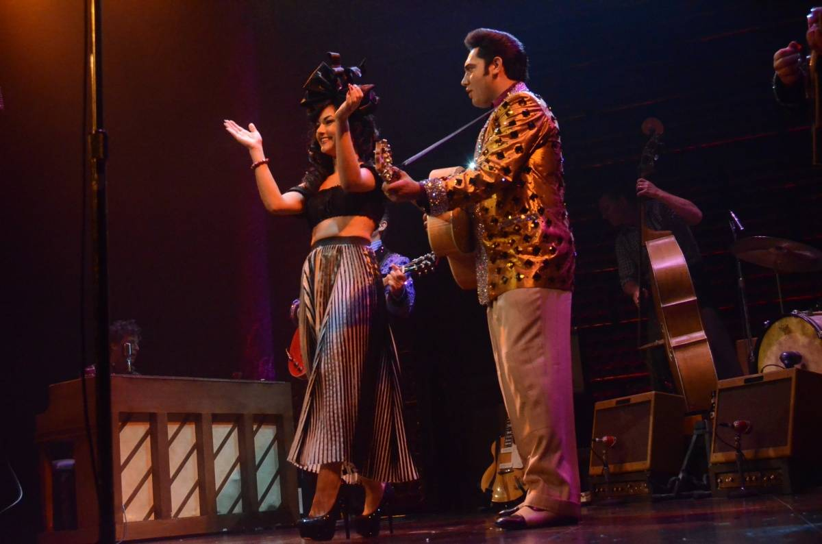 Melody Sweets Performing with the Cast of MILLION DOLLAR QUARTET Las Vegas 4.22.14 (C) Caesars Entertainment (3)