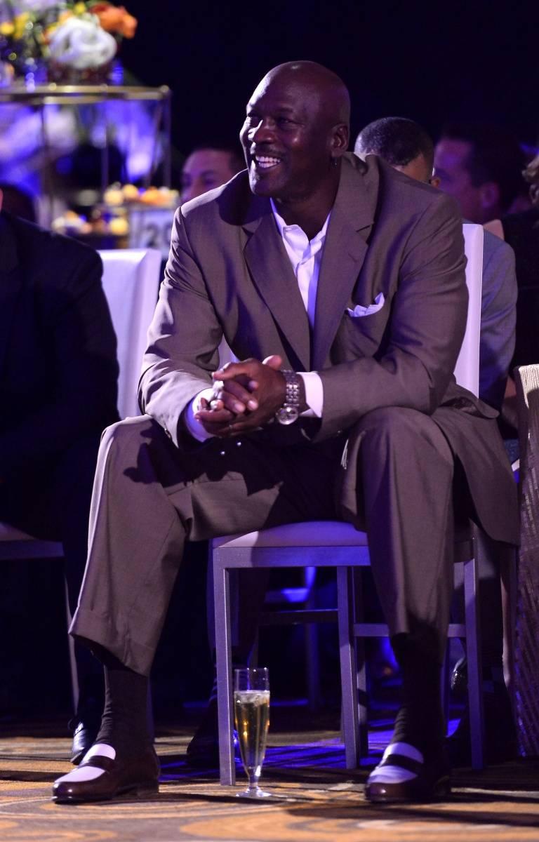 Michael Jordan at MJCI Gala, ARIA, Las Vegas, 4.4.14