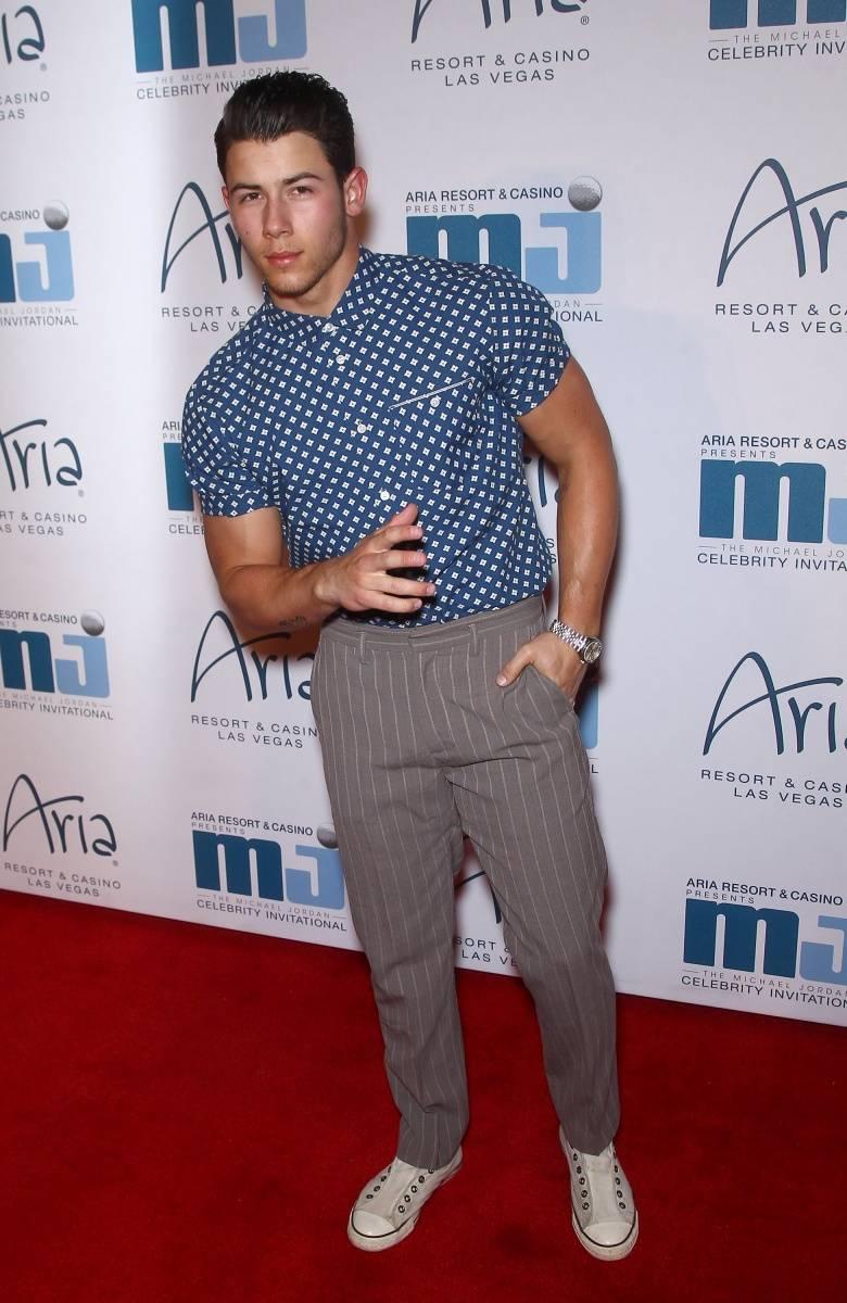 Nick Jonas at MJCI, ARIA Resort & Casino, Las Vegas, 4.4.14 Credit Judy Eddy WENN