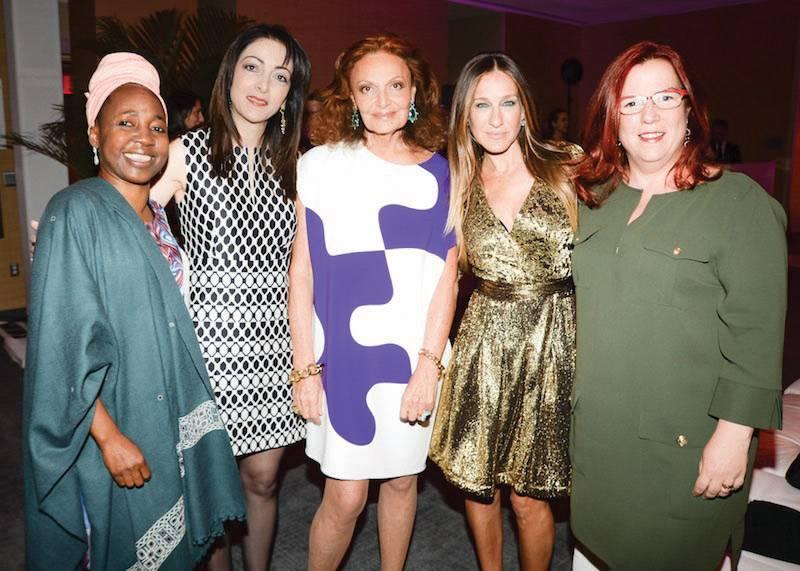 Noha Khatieb, Kah Walla, Diane von Furstenberg,  Sarah Jessica Parker and Liron Peleg-Hadomi
