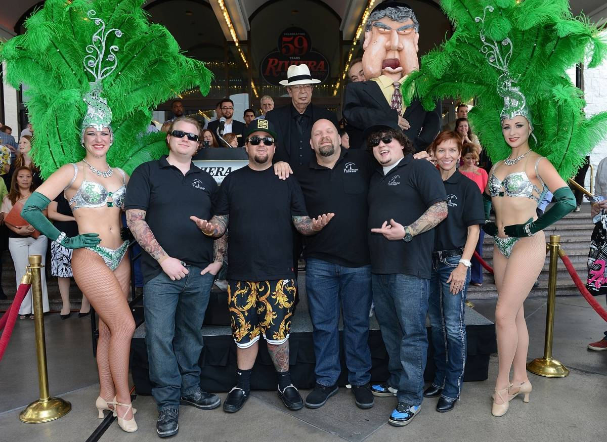 Pawn Stars and PAWN SHOP LIVE - Photo credit Denise Truscello - Wire Image