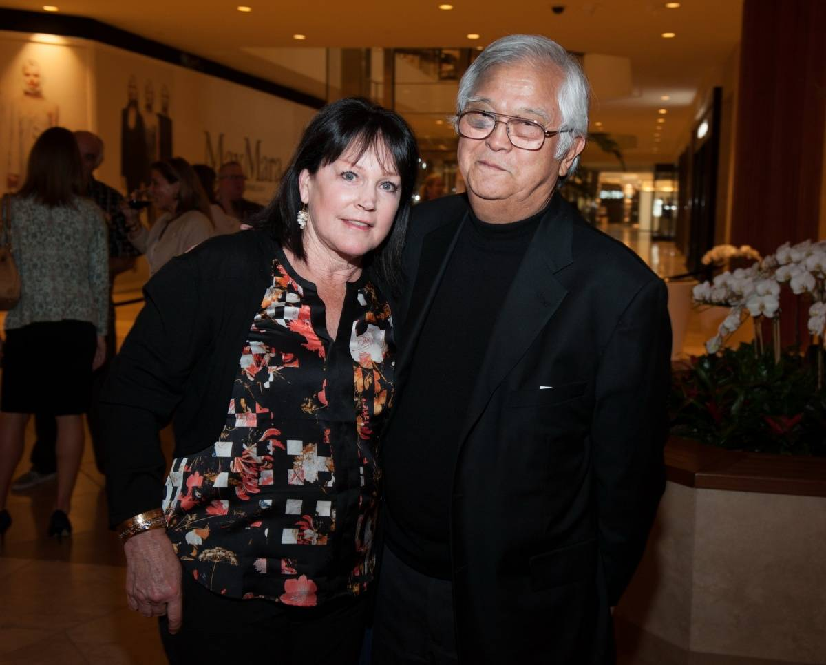 Segerstrom Center - Alvin Ailey 2014 cast party - Cynthia and Dr. Shigeru Chino - photo by Doug Gifford (17)