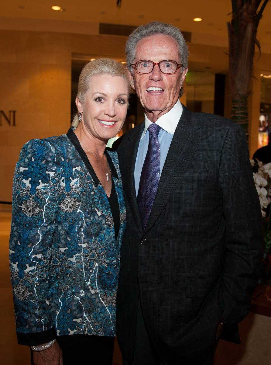 Segerstrom Center - Alvin Ailey 2014 cast party - Tracy and Roger Kirwan -photo by Doug Gifford (1)