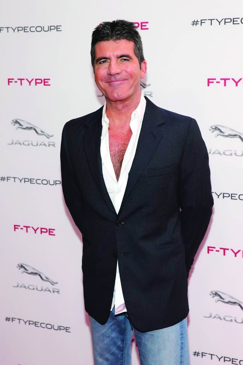 Simon Cowell, Getty Images for Jaguar Land Rover