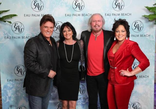 T.G. Sheppard, Linda Gibb, Barry Gibb, and Kelly Lang