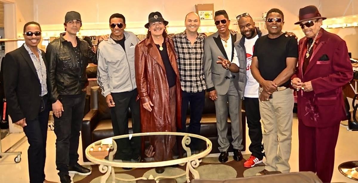 The Jacksons, Santana, Wanya Morris and Criss Angel
