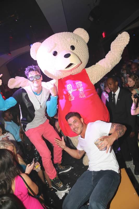 Tom Sandoval and Jax Taylor of Vanderpump Rules party at Hyde Bellagio, Las Vegas, 4.26.14