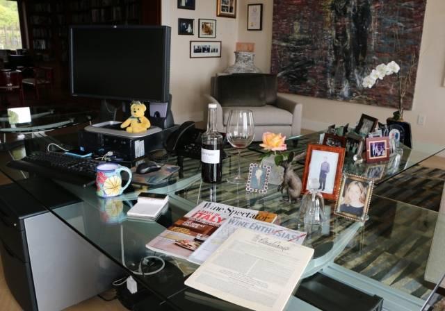 Kathryn Walt Hall desk