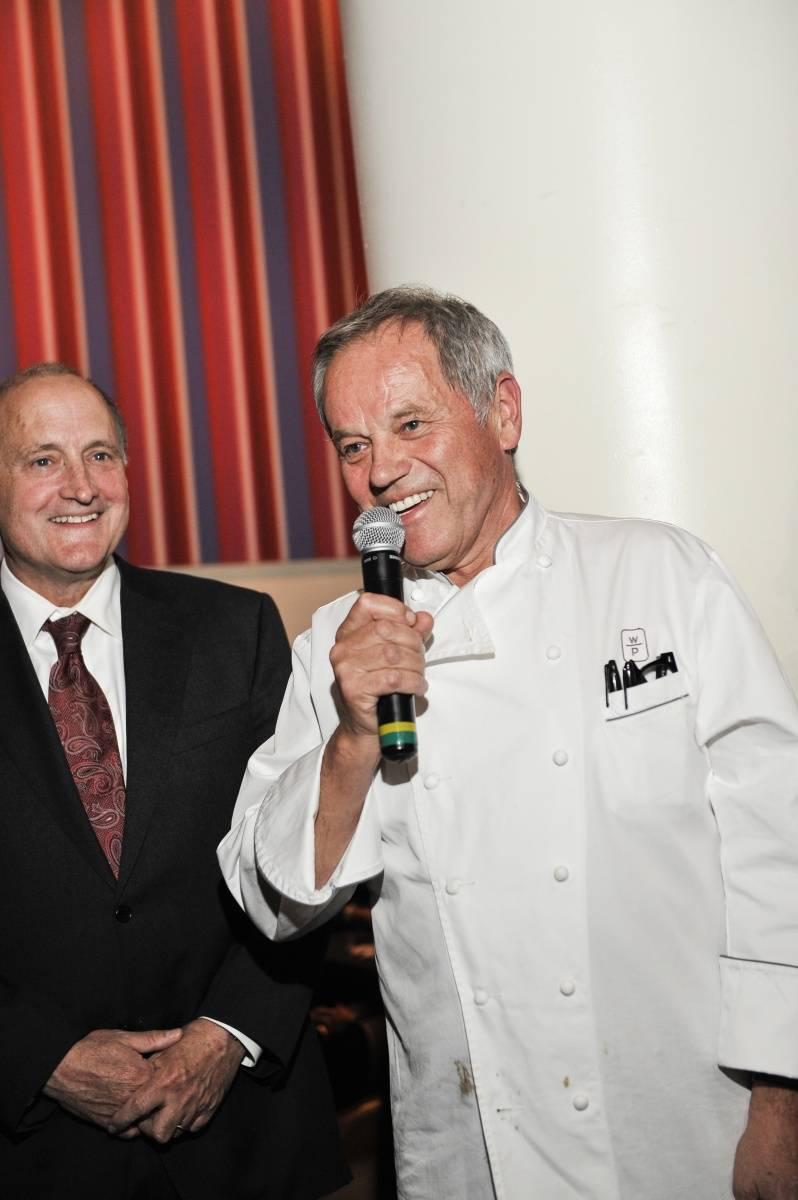 Wolfgang Puck & Dean Stowe Shoemaker at Sip & Savor