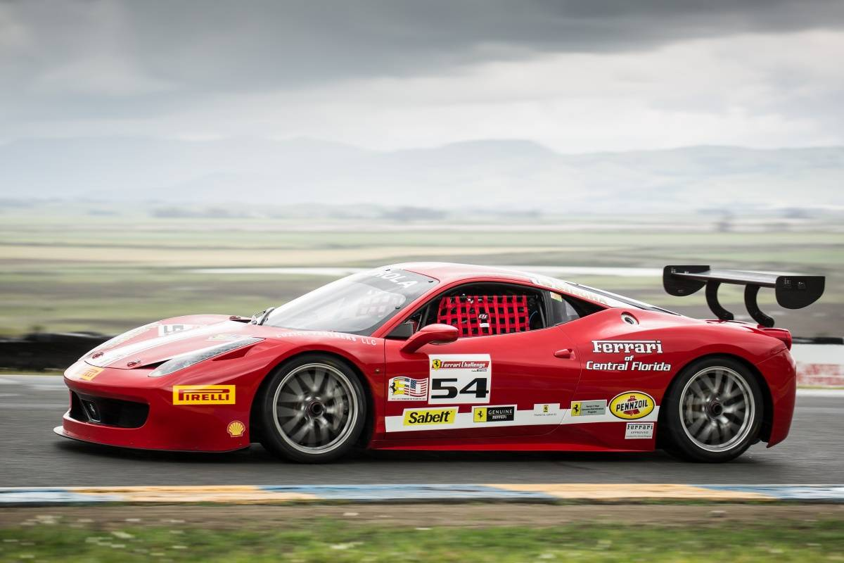 Herjavec Group Ferrari