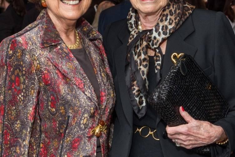 Mary Robinson and Doris Fisher