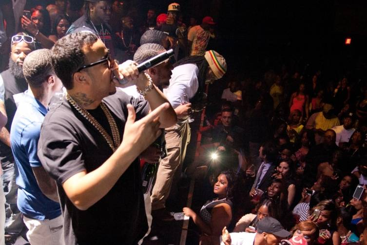 05.03.14_French Montana Performing at Puff Daddy's fight after party at The Joint_Hard Rock Hotel & Casino_Photo credit Patrick Gray_