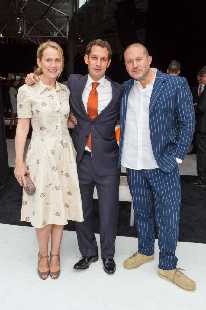 Heather Ive, Daniel Lurie and Jony Ive   Credit: Drew Altizer Photography