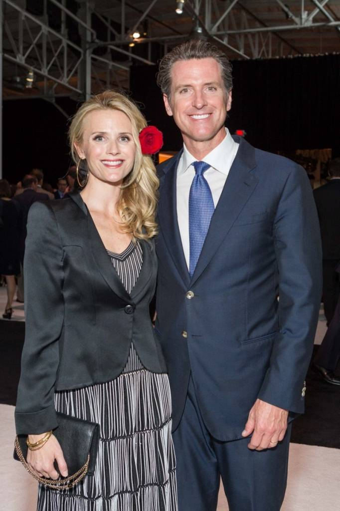 Jennifer and Gavin Newsom  Credit: Drew Altizer Photography
