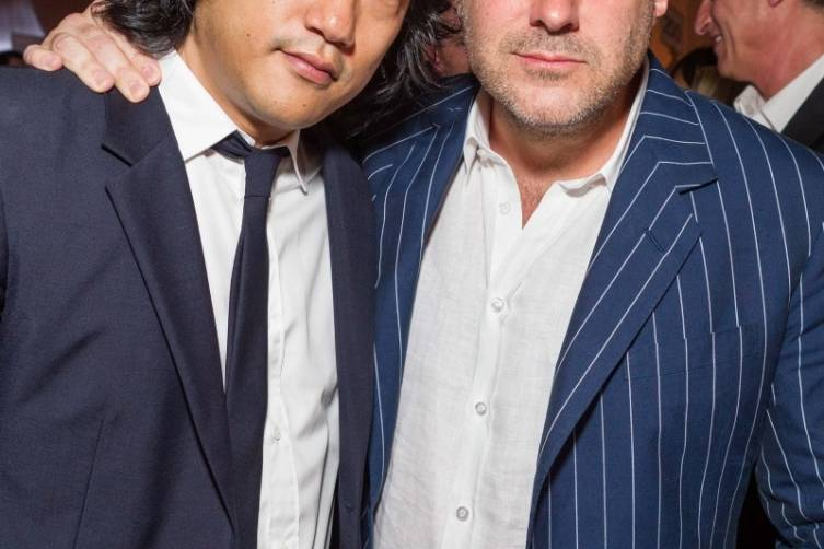 Eugene Whang and Jony Ive