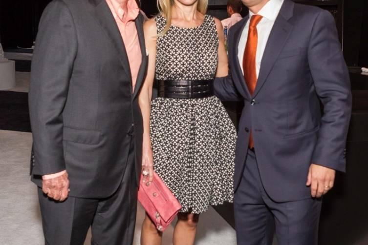 Rupert Murdoch, Juliet deBaubigny and Daniel Lurie