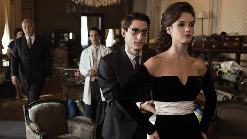 Pierre Niney and Charlotte Le Bon