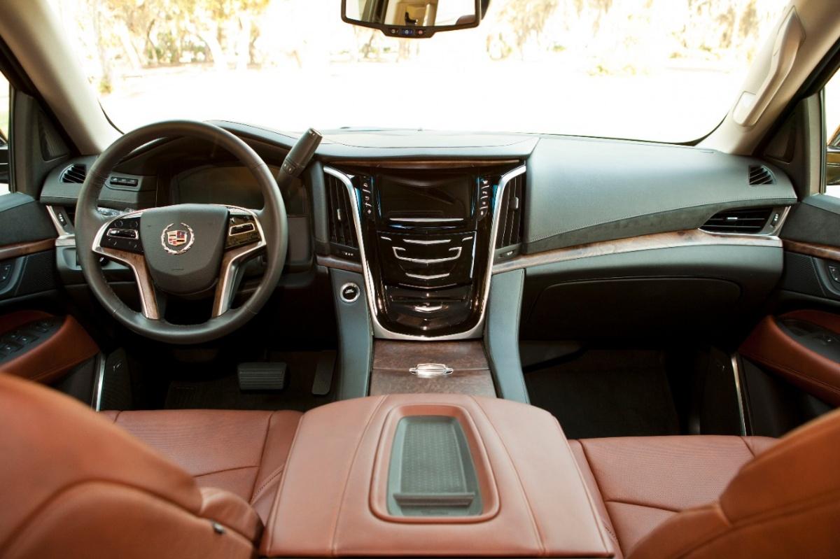 2015 Cadillac Escalade Interior Cabin
