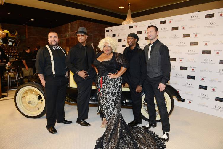1923 Bourbon & Burlesque By Holly Madison Grand Opening Event At Mandalay Bay