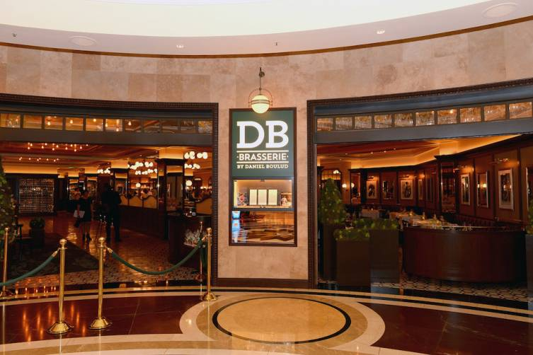 Chef Daniel Boulud Celebrates His Return To Las Vegas With The Opening Of db Brasserie Inside The Venetian Las Vegas