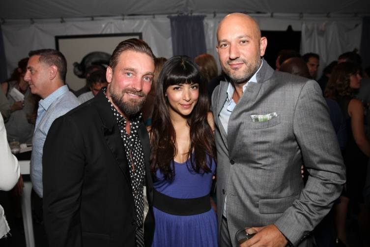 Brian Bowen Smith, Hannah Simone and Steph Sebbag