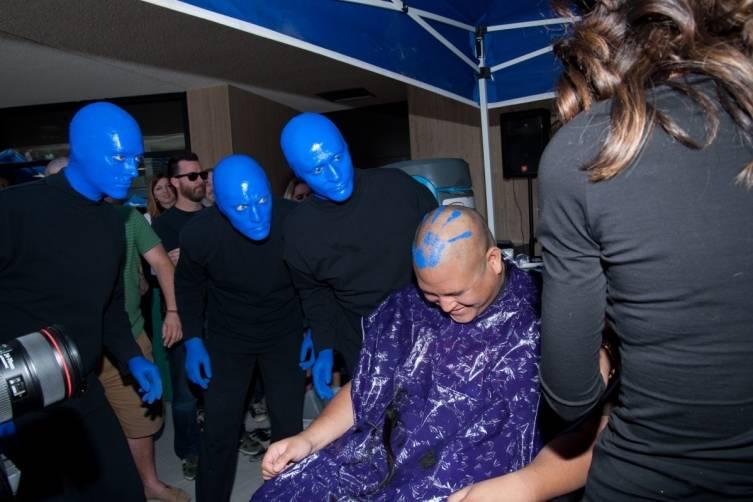 5.14.14  Blue Man Group ShoeZaphone Unveiling _photo credit Adrienne Griffin (4)
