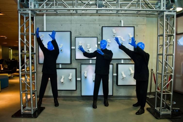 5.14.14  Blue Man Group ShoeZaphone Unveiling _photo credit Adrienne Griffin (8)