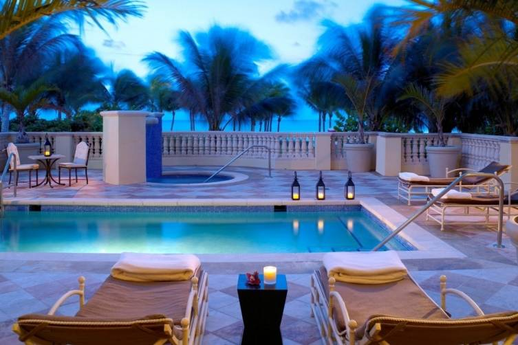 Acqualina Spa By ESPA Private Pool Deck