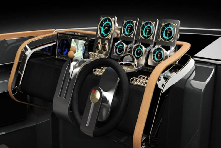 Aeroboat Switchgear and Steering