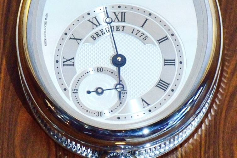 Breguet Reine de Naples Clock