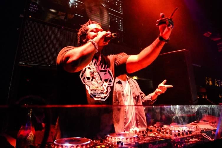 Busta Rhymes Performance at TAO Nightclub
