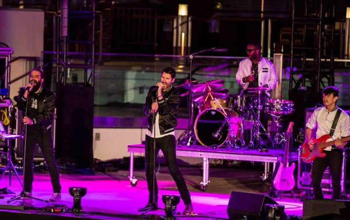 Capital Cities performs during OBC presented by X107.5 at Boulevard Pool at The Cosmopolitan_Kabik-95