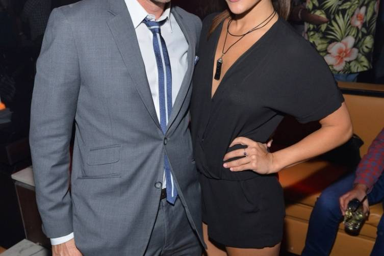 Chris Harrison & Andi Dorfman, Hyde Bellagio, Las Vegas, 5.17.14 (photo credit - WireImage)