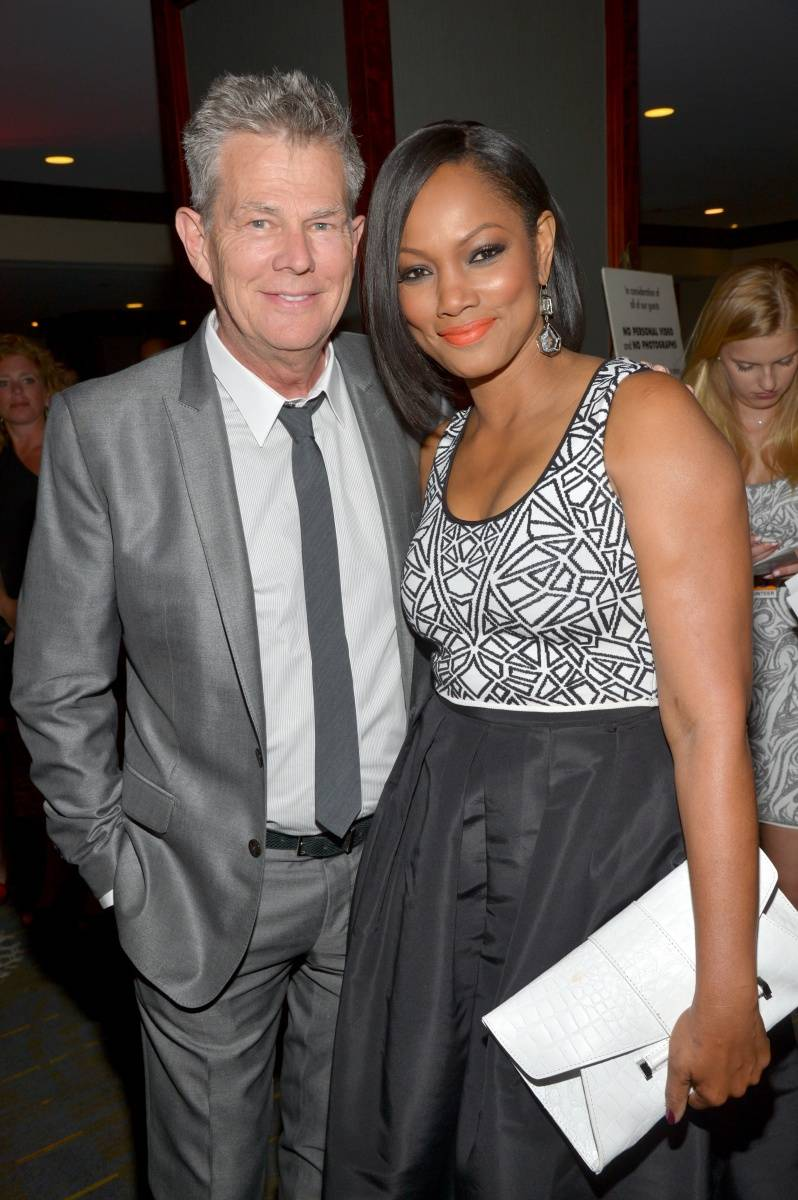 David Foster +Garcelle Beauvais