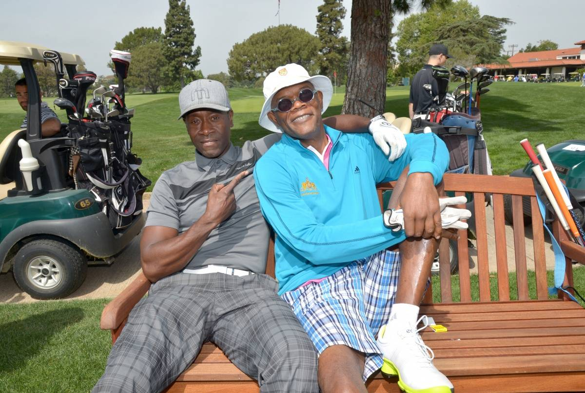 Don Cheadle & Samuel L. Jackson - Michael Buckner Getty Images