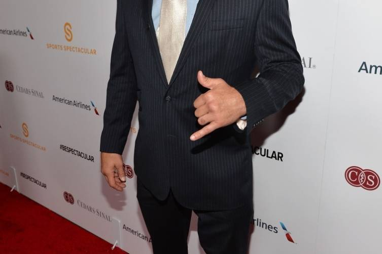 Former MMA fighter Chuck Liddell arrives on the red carpet at the 2014 Sports Spectacular Gala (Alberto E. Rodriguez,Getty Images)