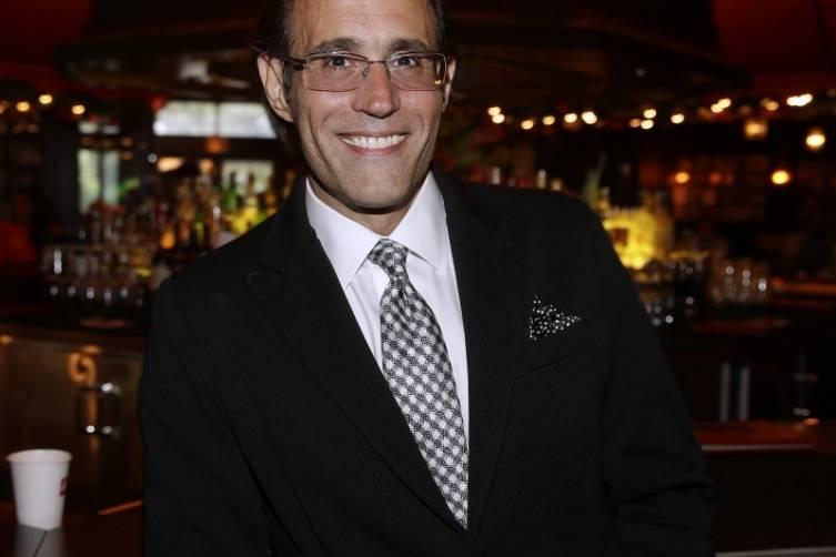 Frank Pellegrino, Jr. at Rao's Master Series Dinner (credit Isaac Brekken for Bon Appetit)