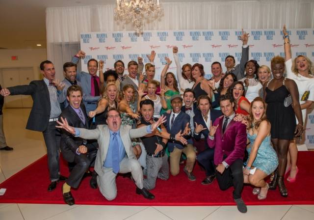 Full Cast - MAMMA MIA Grand Opening 5.16.14 Credit - Erik Kabik