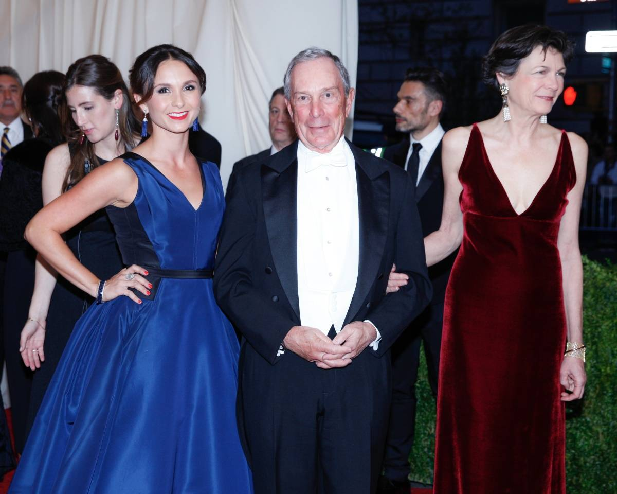 Georgina Bloomberg, Mayor Michael Bloomberg and Diana Taylor