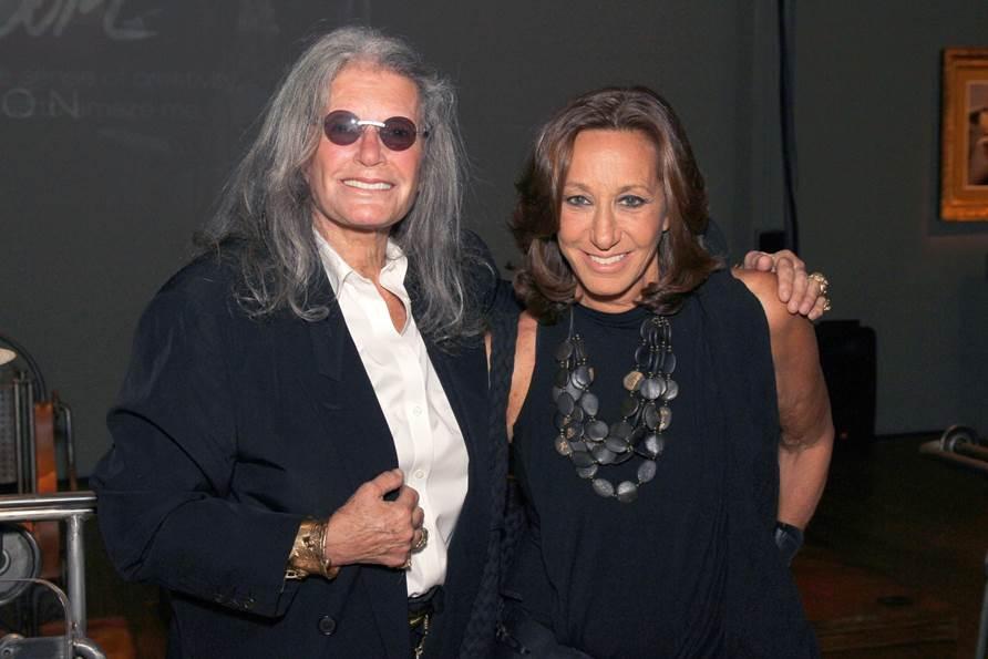 Ilana Goor and Donna Karan