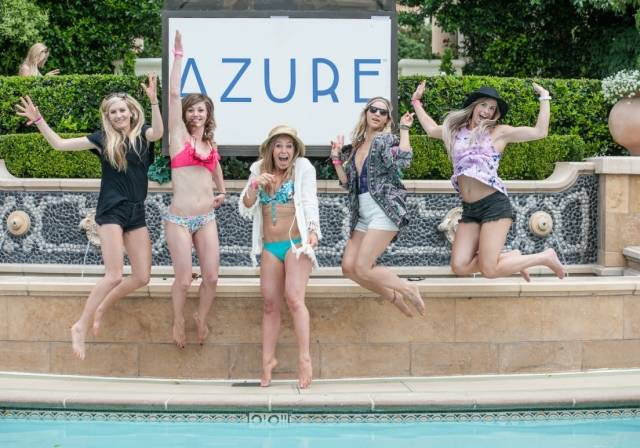 Jaime Anderson and Olympic Friends at Azure