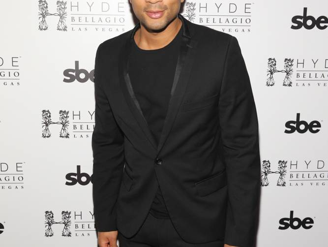 John Legend at Hyde Bellagio, Las Vegas, 5.17.14 (photo credit - Hyde Bellagio)