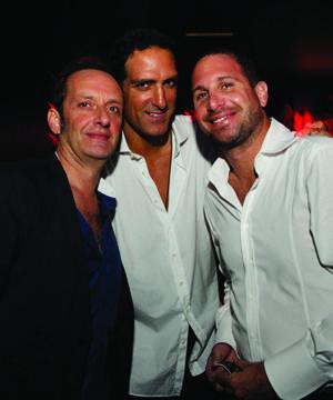 Karim Masri, Nicola Siervo & Rony Seikaly