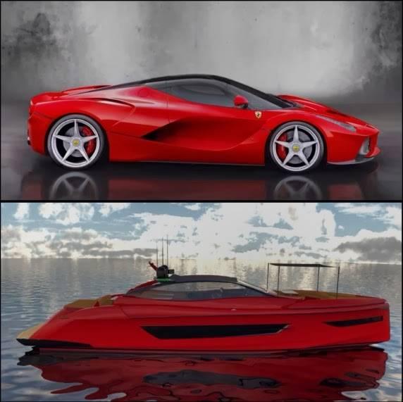 La Ferrari Yacht