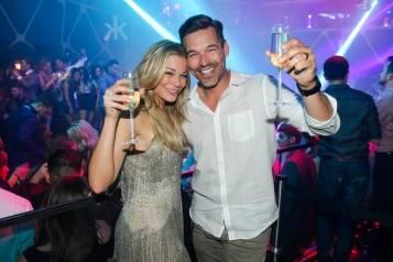 LeAnn Rimes and Eddie Cibrian_Hakkasan Las Vegas Nightclub