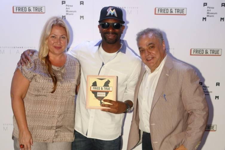 Leann Standish, DJ Irie & Lee Brian Schrager - Photo By World Eye