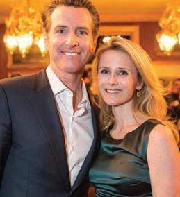 Lieutenant Governor Gavin Newsom And Jennifer Siebel Newsom