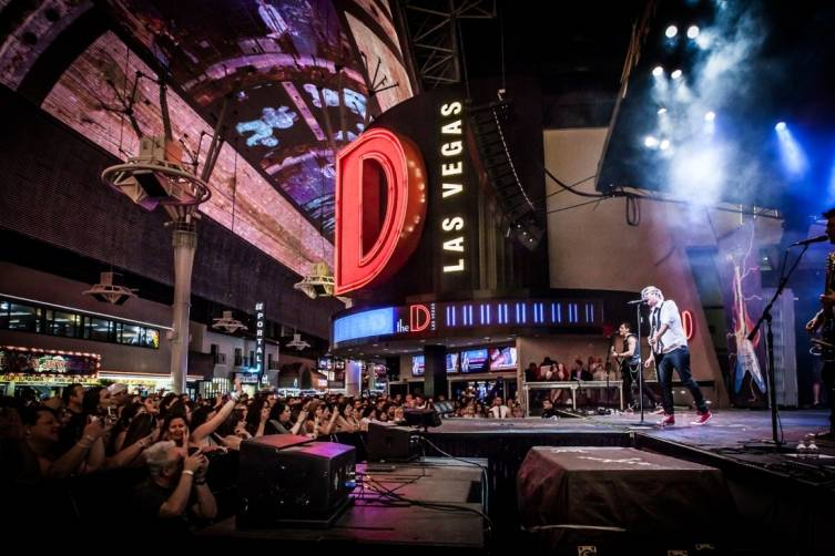 Marianas Trench perform at the D, 5.18.14